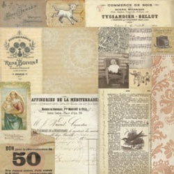Односторонняя бумага Madonna Collage