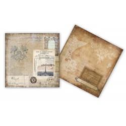 Двусторонняя бумага The Old World