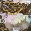 "Набор бумаги ""Once upon a time"", 30х30 см, 24 листа"