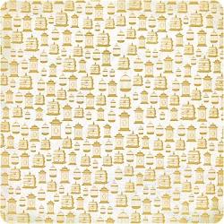 Односторонняя бумага с золотым эффектом Mariposa