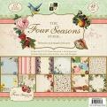 "Набор бумаги ""The Four Seasons"", 30х30 см, 24 листа"