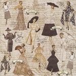 "Набор бумаги ""Lady Couture"", 30х30 см, 24 листа"