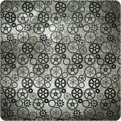 Односторонняя бумага с глянцевым эффектом Tattered Time