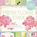 "Набор бумаги ""Fresh Floral, 30х30 см, 60 листов"