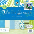 "Набор бумаги ""White Ginger"", 30х30 см, 24 листа"