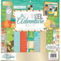 "Набор бумаги ""Travel Adventure"", 30х30 см, 24 листа"