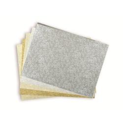 """Эмбоссированная бумага """"Камелия"""", 40 листов, 15х20см"""