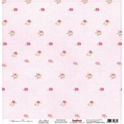 """Односторонняя бумага """"Розовые лепестки"""""""