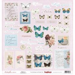 """Односторонняя бумага """"Счастье"""" коллекция """"Бабочки"""""""