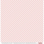 "Двусторонняя бумага ""Звездочки Розовый Кварц"" коллекция ""Элегантно Просто"""