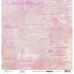 "Односторонняя бумага ""Виктория"" коллекция ""Джульетта"""