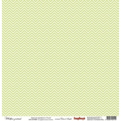 "Односторонняя бумага ""Зеленый шеврон"""
