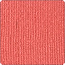 Кардсток  Bazzill Basics Flamingo, c текстурой холста