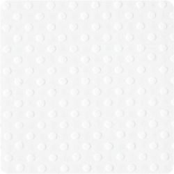Кардсток  Bazzill Basics Salt, с текстурой светлых точек