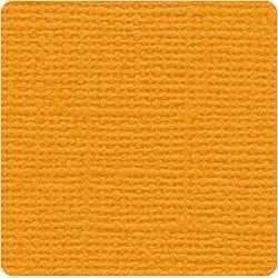 Кардсток  Bazzill Basics Cheddar, c текстурой холста