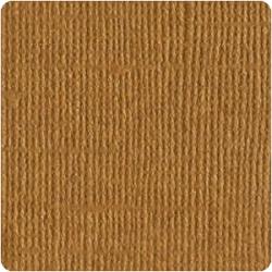 Кардсток  Bazzill Basics Walnut, c текстурой холста