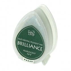 Пигментные перламутровые чернила  Brilliance Dew Drop  цвет ivy