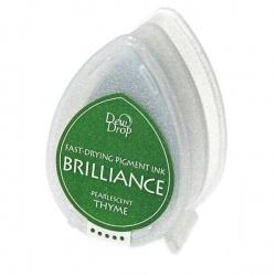 Пигментные перламутровые чернила  Brilliance Dew Drop  цвет thime