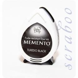 Водорастворимые чернила Memento Dew Drop цвет Tuxedo Black