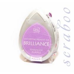 Пигментные перламутровые чернила  Brilliance Dew Drop цвет Pearlescent Purple