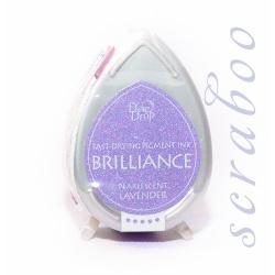 Пигментные перламутровые чернила  Brilliance Dew Drop цвет Pearlescent Lavander