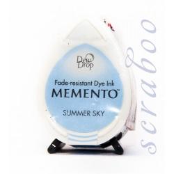 Водорастворимые чернила Memento Dew Drop цвет Summer Sky