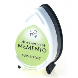 Водорастворимые чернила Memento Dew Drop цвет New Sprout