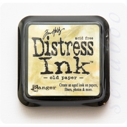 Чернила Distress Ink Ranger цвет Old paper