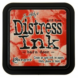 Чернила Distress Ink Ranger цвет Barn door