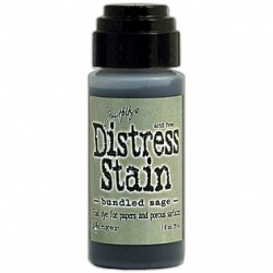 Жидкие чернила Distress Stain цвет Bundled Sage