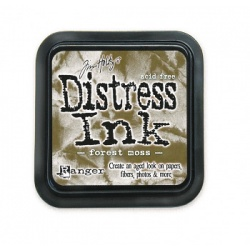 Чернила Distress Ink Ranger цвет Forest moss