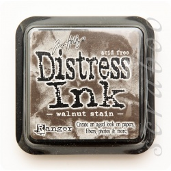 Чернила Distress Ink Ranger цвет Walnut stain
