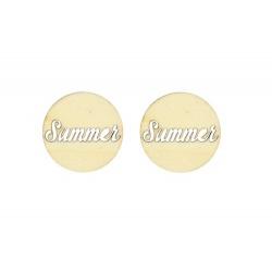 """Лазерная вырубка из дерева """"Summer"""""""