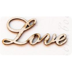 """Надпись из чипборда """"Love"""""""