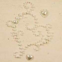 Аппликация самоклеющаяся Say It In Pearls