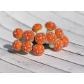 Грибочки оранжевые в обсыпке, 12 шт