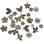Металлические цветы Tim Holtz Idea-ology