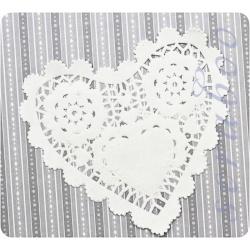 "Набор бумажных салфеток ""Сердце"", 5шт"