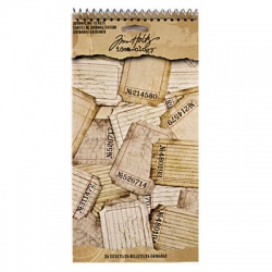 "Билетики Tim Holtz Ranger ""Journaling Tickets"""