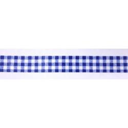 """Бумажный скотч с принтом """"Синяя клетка"""", 8м"""