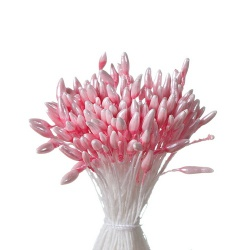 Набор светло-розовых тычинок, 144 шт