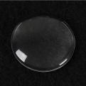 Набор прозрачных кабошонов круг, 30мм, 2шт
