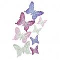 Набор бумажных бабочек, 8 шт