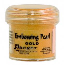 Пудра для эмбоссинга Embossing Pearl цвет Gold