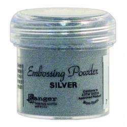Пудра для эмбоссинга Embossing Powder цвет Silver