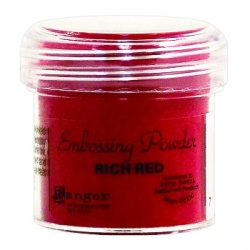 Пудра для эмбоссинга Embossing Powder цвет Rich Red