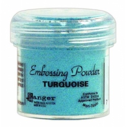 Пудра для эмбоссинга Embossing Powder цвет Turquoise