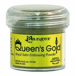 Пудра для эмбоссинга  Embossing Powder цвет Queen's Gold