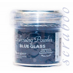 Пудра для эмбоссинга Embossing Powder цвет Blue Glass