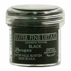 Пудра для эмбоссинга Super Fine Detail цвет Black
